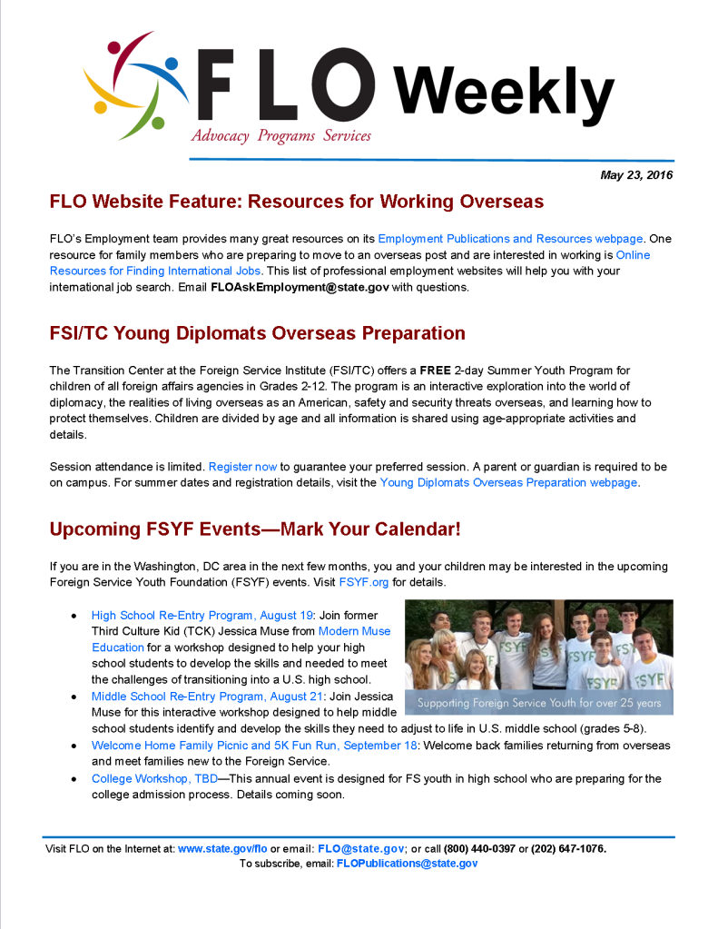 FLO Weekly 5-23-16