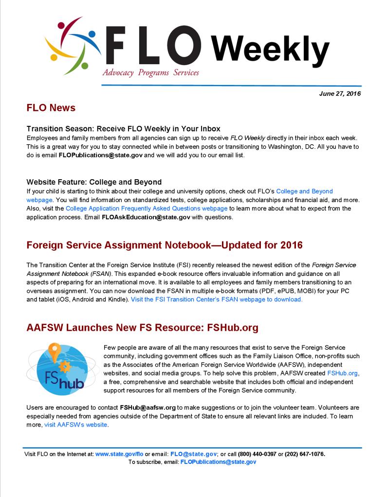 FLO Weekly 6-27-16