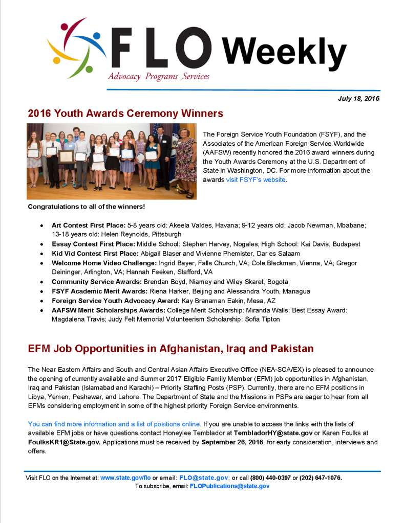 FLO Weekly 7-18-16