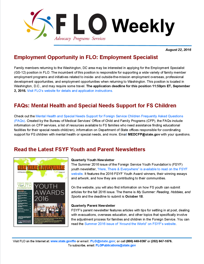 FLO Weekly 8-22-16