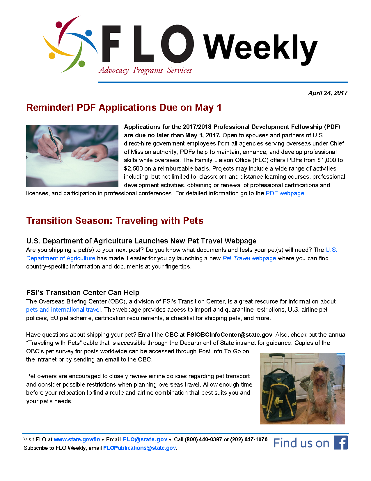Clodakar page 15 la palabre flo weekly reminder pdf applications due on may 1 transition season traveling with pets 1betcityfo Images