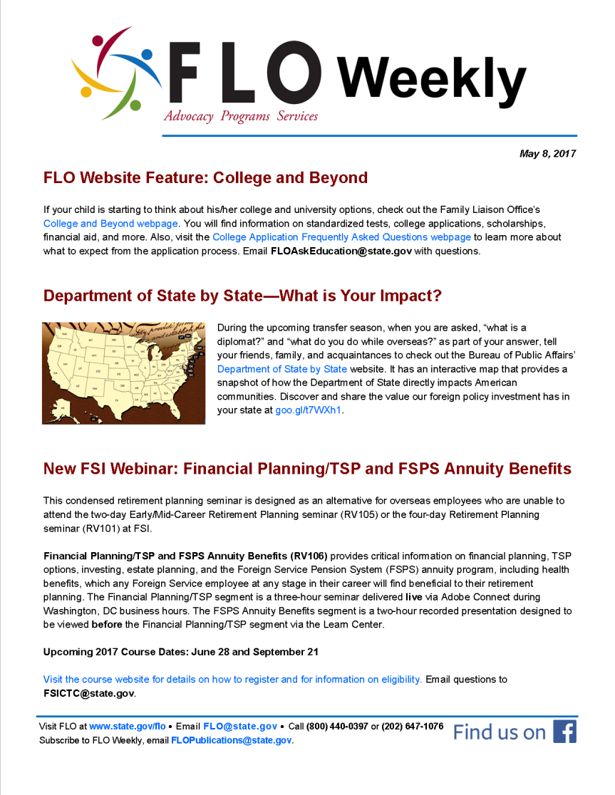 FLO Weekly 5-8-17